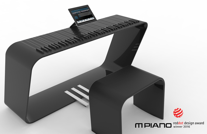 »The mPIANO fascinates with its sophisticated actuator technology, which provides musicians with novel possibilities, and not least with its impressive design.«