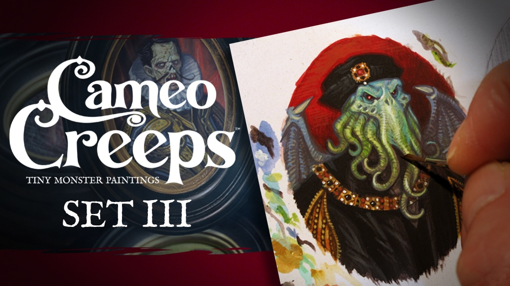 SET III Cameo Creeps: Tiny Monster Paintings project video thumbnail