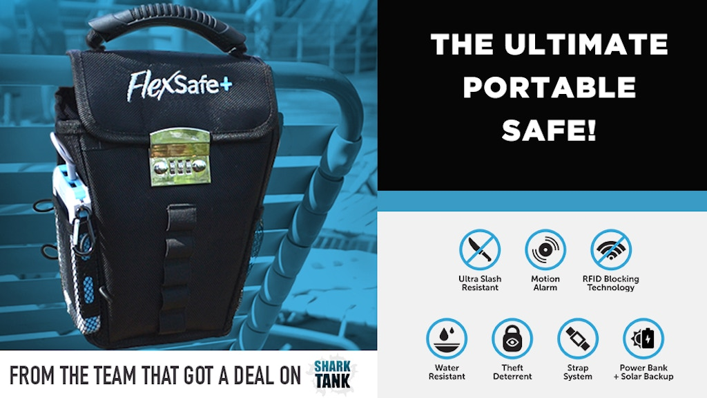 FlexSafe + : The Ultimate Portable Travel Safe project video thumbnail