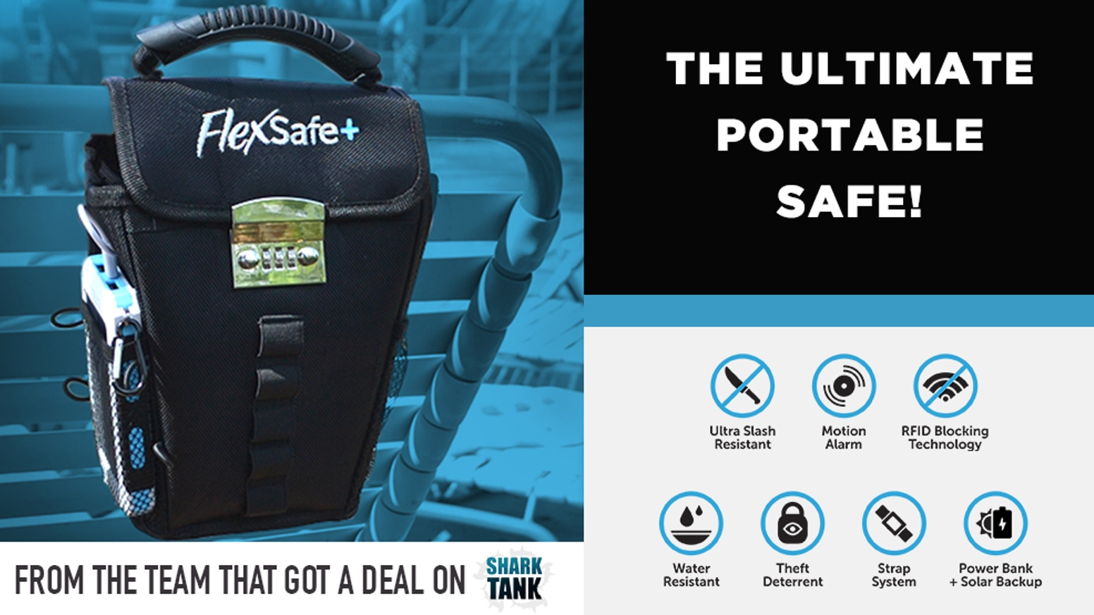 Thanks for all the support! You can still pre-order FlexSafe+ by clicking the link below. It makes a great gift and will be the most useful travel accessory you will ever own!