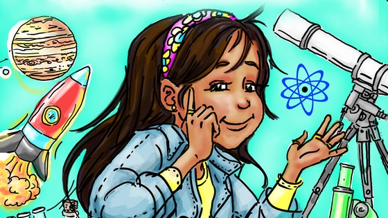 Elara, STEM Girl: Children's book to inspire a love for STEM