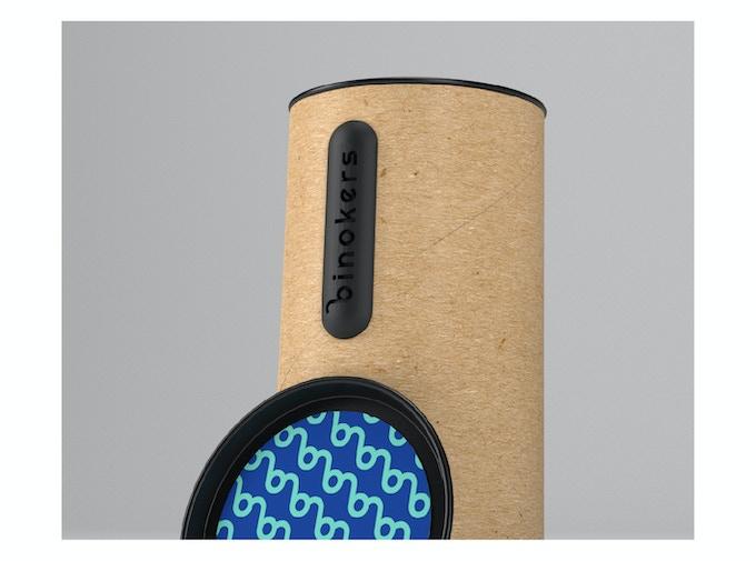 Binokers packaging.