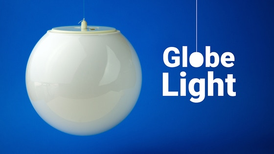USB Rechargeable Globe Light with Magnetic Mount