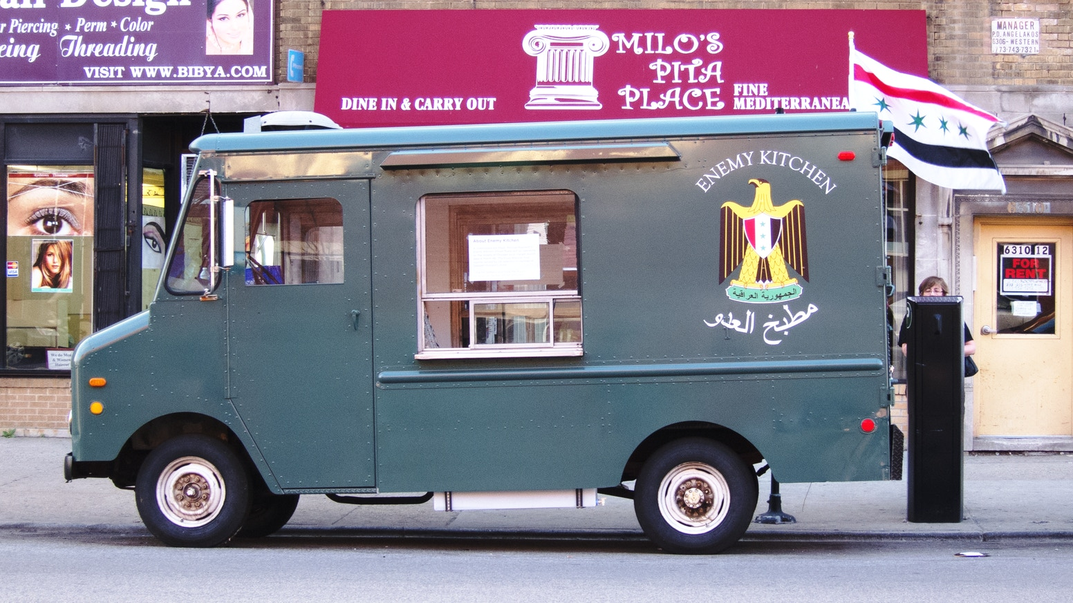Bring This Mobile Food Truck Art Project To The MCA Where US Veterans Will Serve Free Iraqi Dishes At Community Events