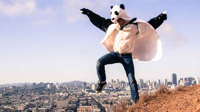 The Panda Coat is the next product in the Griz Coat line. Remember: Hugs are just the beginning...