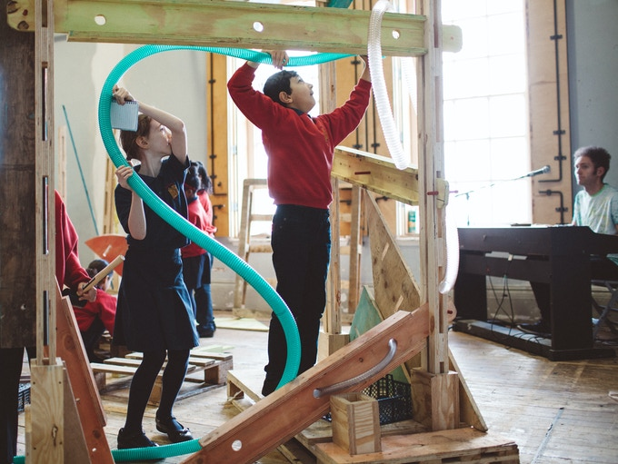 Sharing ideas at Battersea Arts Centre
