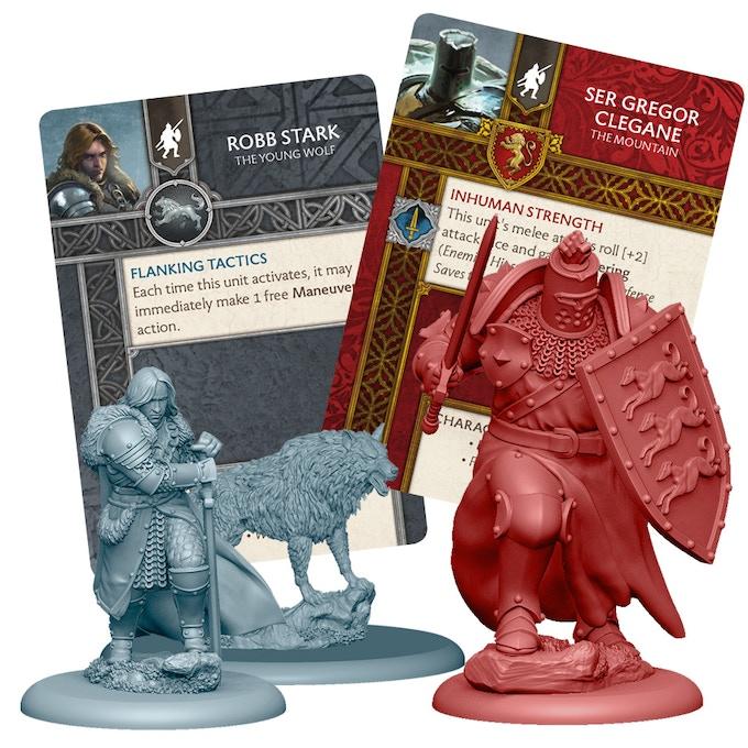 3D Renders of Robb Stark, Grey Wind and Ser Gregor 'The Mountain' Clegane