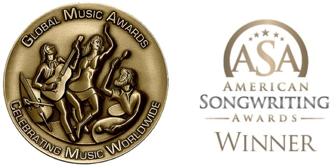 Best of Show Gold Medal (Global Music Awards) and American Songwriting Award