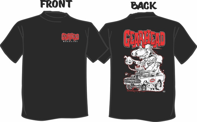 Gearhead T Shirt Reward