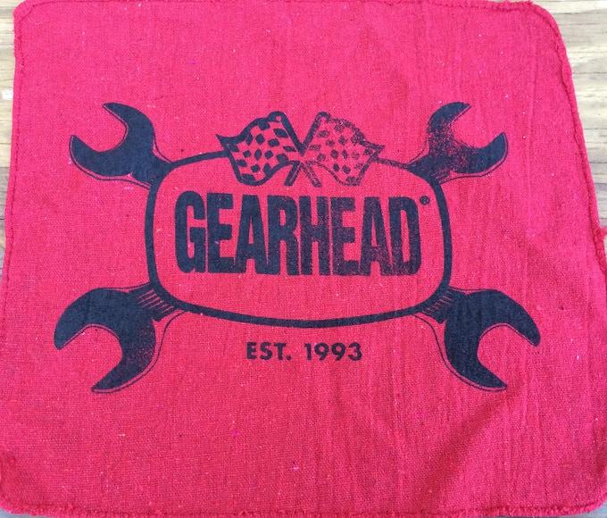 $5 Reward, a Gearhead Shop Rag!