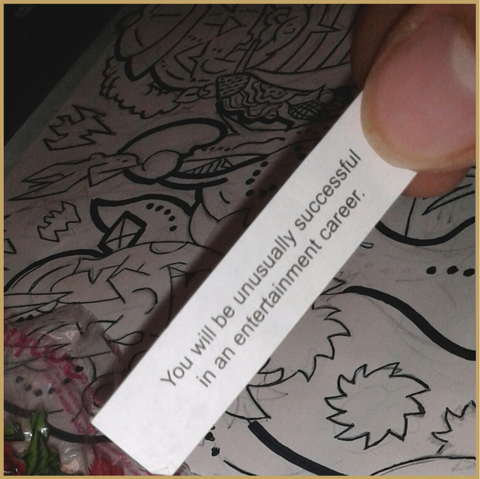 Oh, if ever there was a time for fortune cookies to come true!