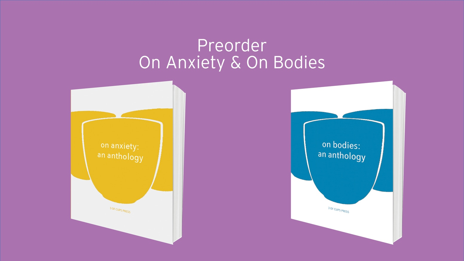 On Anxiety is the first anthology from 3 of Cups Press, a literary collection about anxiety in its various guises. You can get your copy of On Anxiety through our website (click the blue button below!) or through a number of wonderful indie bookshops.