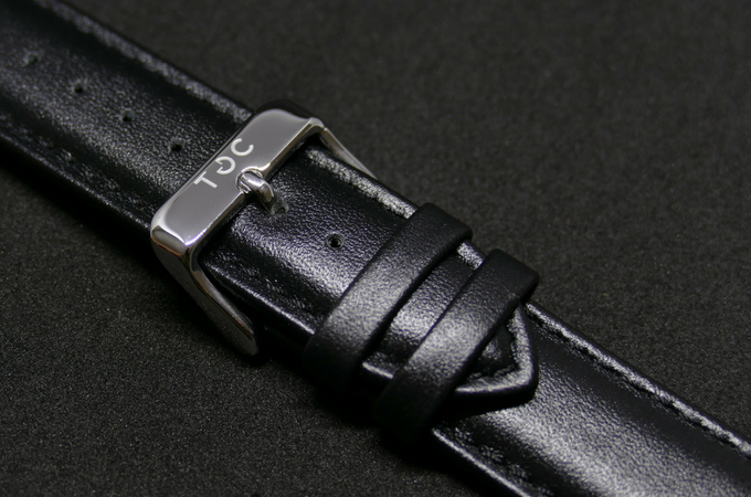 Strap: Black Leather