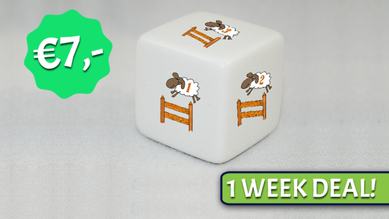 Sheep Counting Dice - Sleep tight!
