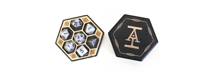 Hex Chests Remastered: Artisan Dice Boxes by Elder Wood — Kickstarter