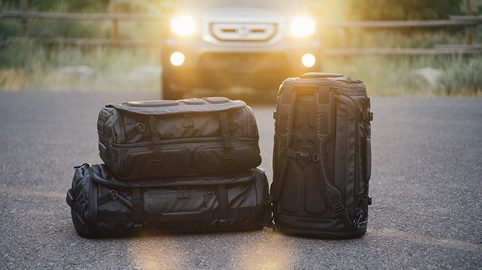 We didn't create one, but TWO new bags. The HEXAD Access Duffel (compatible with our camera cubes) and the HEXAD Carryall Duffel (comes in 2 sizes).