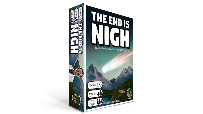 The End is Nigh: A Pre-Apocalyptic Deduction Game by Mystic