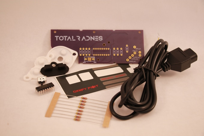 Requirements: Soldering skills and tools. NES controller.