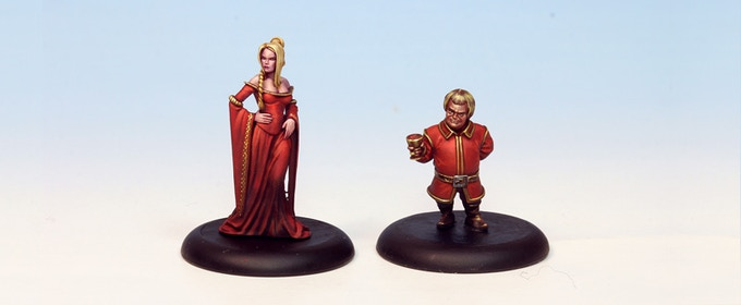 A Lannister always pays their debts. Miniatures come unpainted!