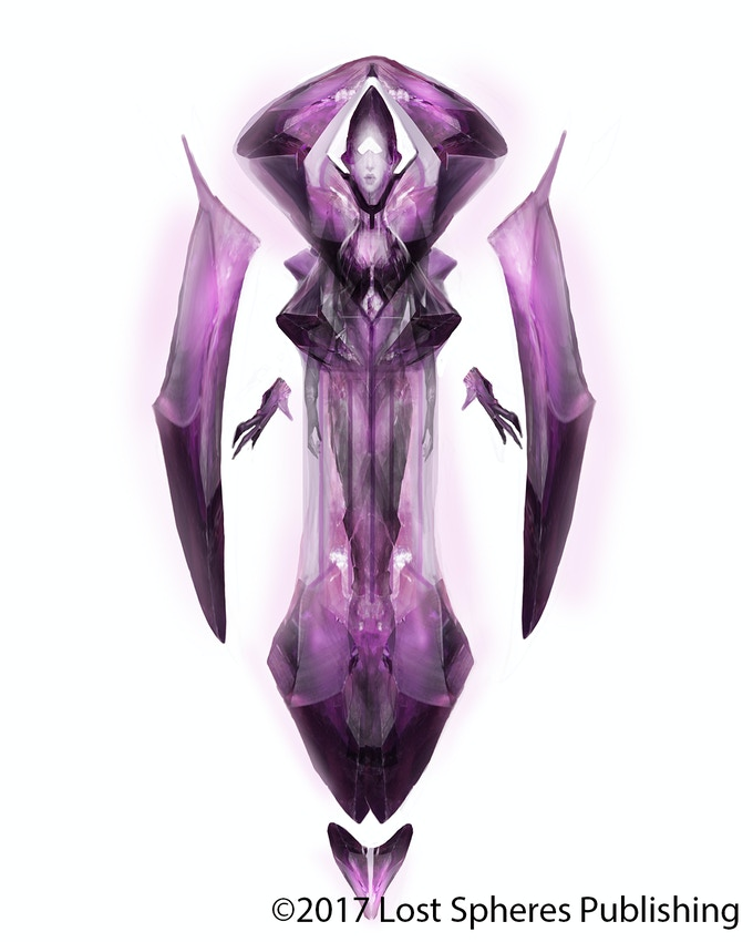 Amethyst Angel of the Eternal Dawning