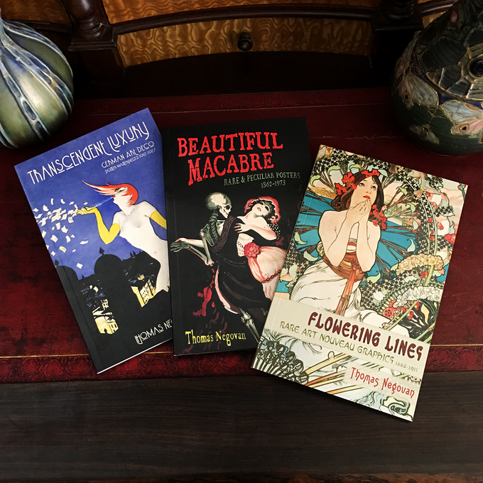 The first three books in our Antique Artworks series