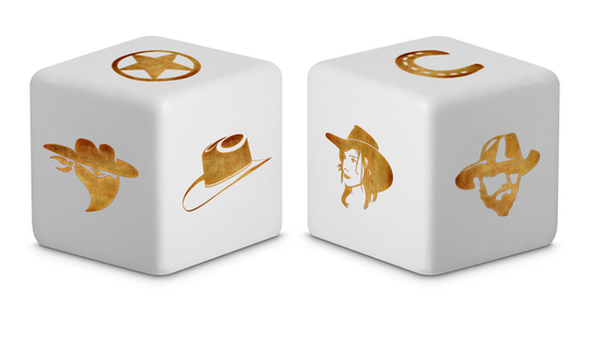 The Western Dice! - Be the cowboy!