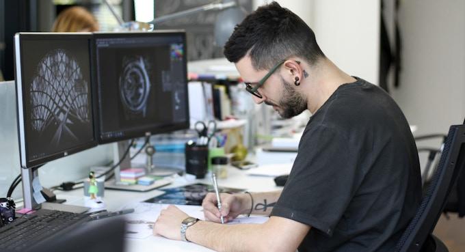 Massimo, un de nos designers passionés @StudioDivine