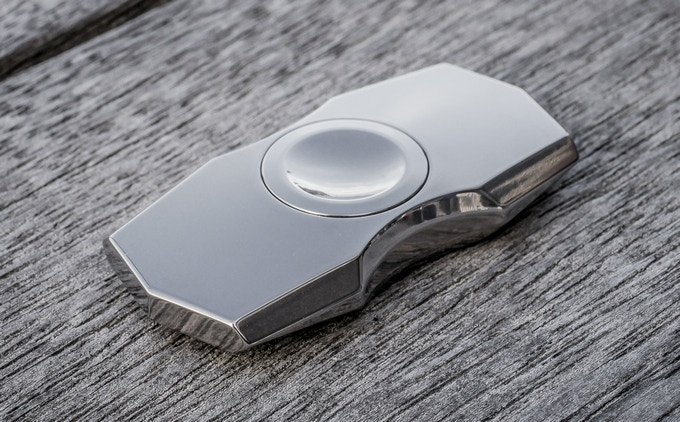 The Ultimate Titanium Fidget Spinner by Magnus Macdonald