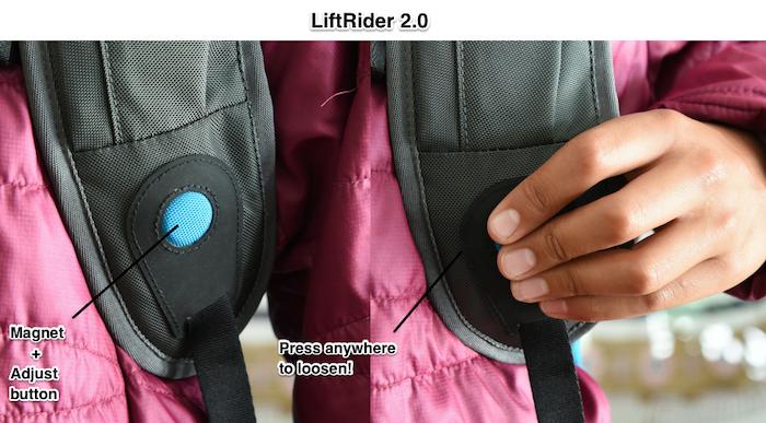 LiftRider - World's Best Ski Backpack by Sani Elfishawy