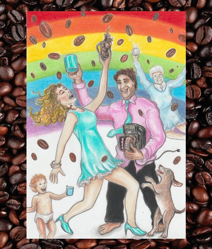 So, are you ready to rock this Coffee Tarot: Grande Edition Kickstarter with us? Let's go!