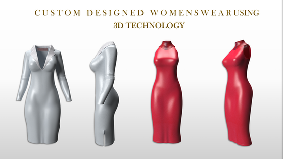 Create Your Own Custom Designed Dresses Using 3D Technology