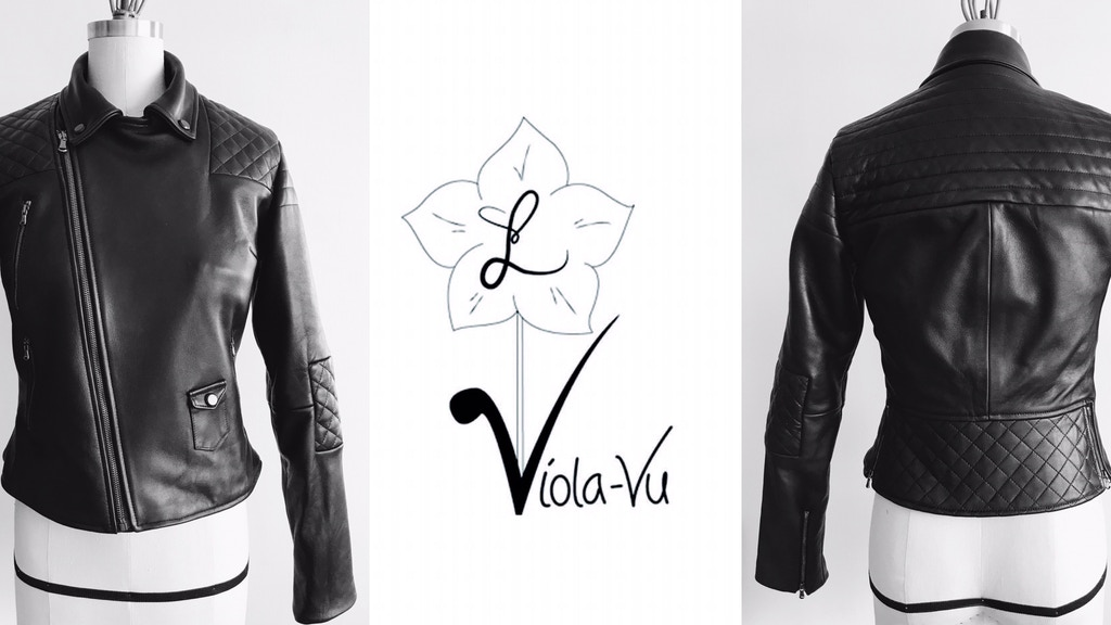 Project image for Lindsay Viola-Vu, L.Viola-Vu, Leather Jacket