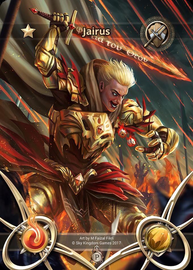 Jairus the Tactician from Koros! A special Kickstarter exclusive reward!
