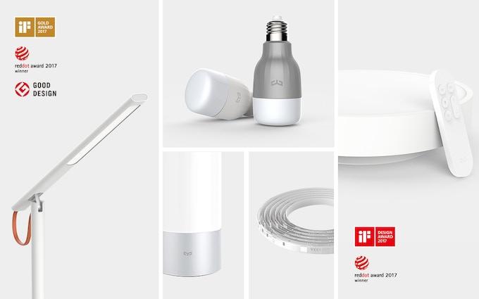 Award winning lamp, smart white light bulb, smart color light bulb, smart bedside lamp, smart lightstrip,smart ceiling light