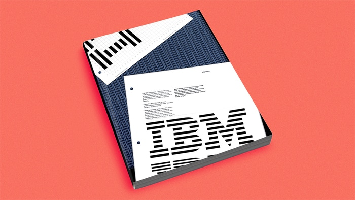 Reprinting Paul Rand's Graphics Standards Manual for the IBM's Visual Identity with 13 Pantone© You can still pre-order.