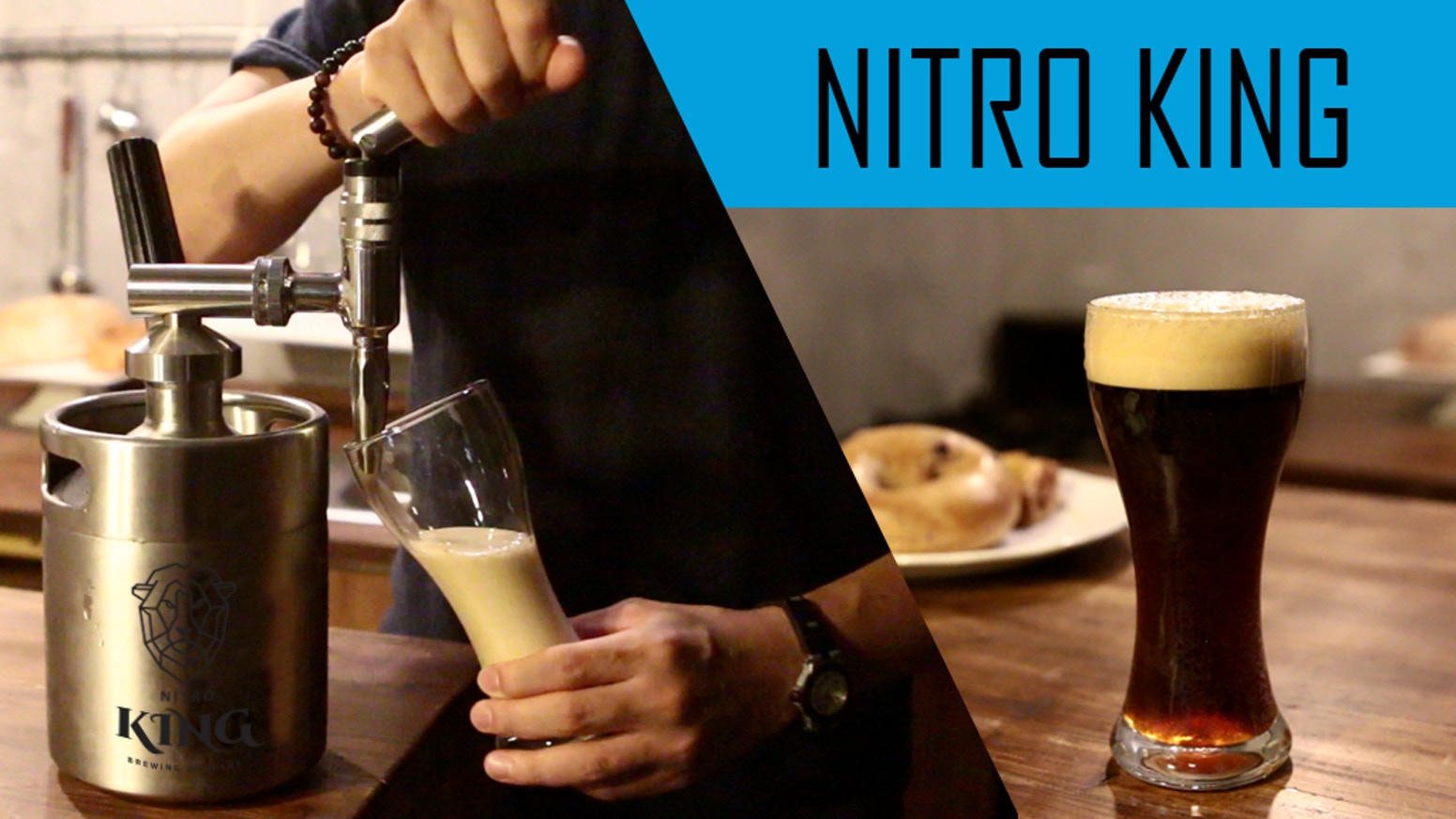 NITRO KING - Make Nitro Cold Brew Coffee Easily At Home by Brewing