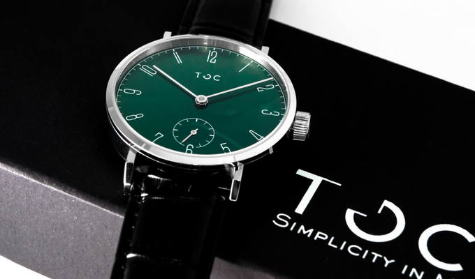 Toc19: Emerald Green with Box