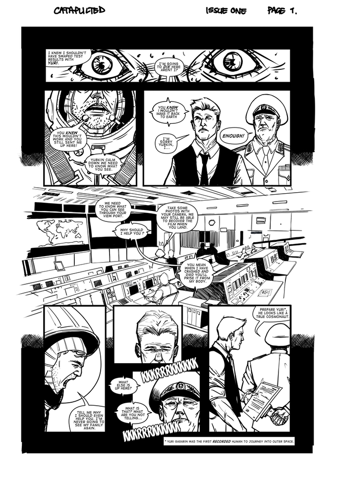 Sequential Art from the book.