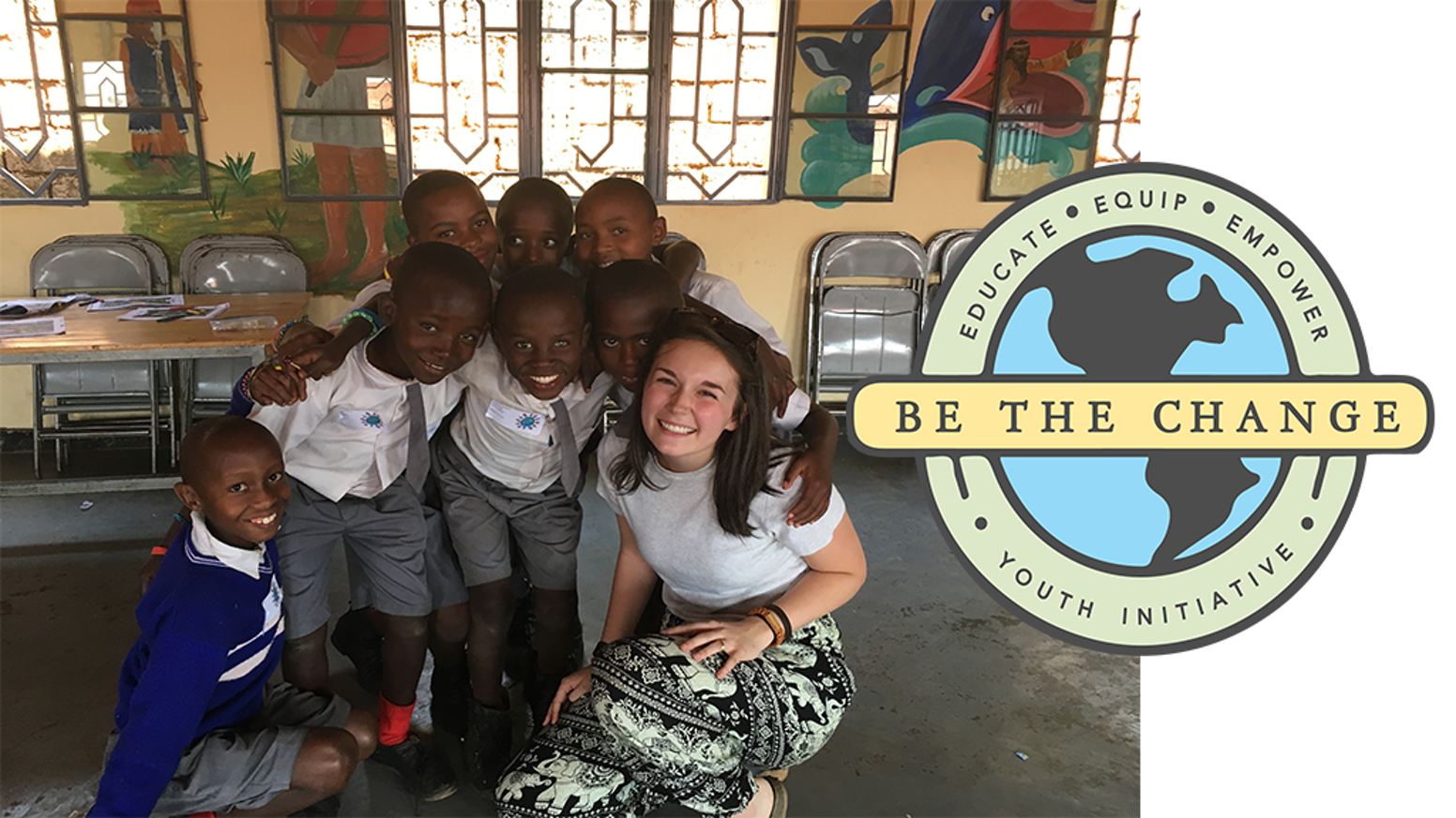 Be The Change Youth Initiative By Sydney Guerrette Kickstarter