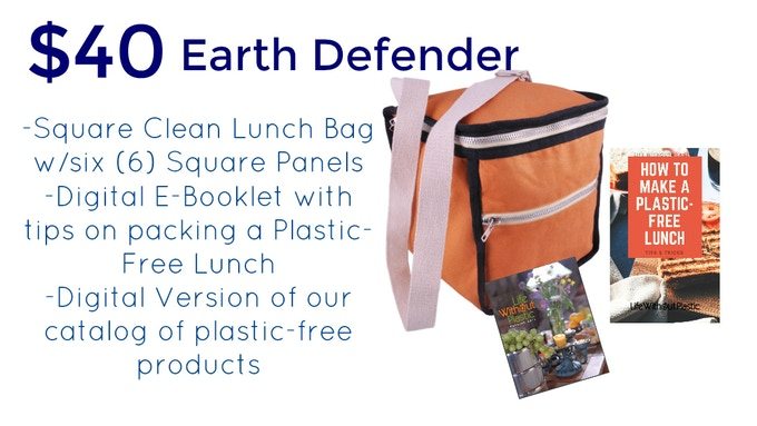 The Plastic Free Zero Waste Clean Lunch Bag By Life