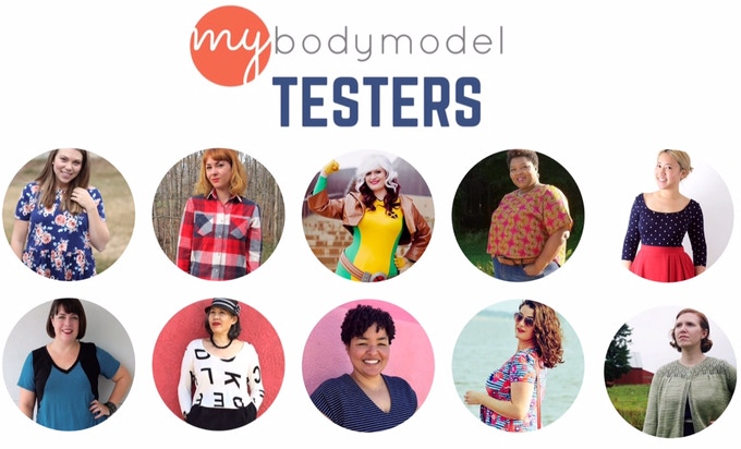 MyBodyModel will be tested by experienced sewers, knitters, and designers