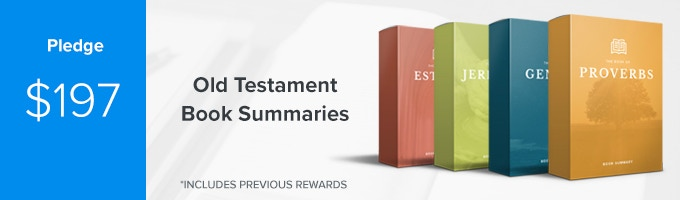 Get Bible book summaries of EVERY Old Testament book of the Bible PLUS early access to your one-year Sermonary membership. (Includes Previous Rewards)