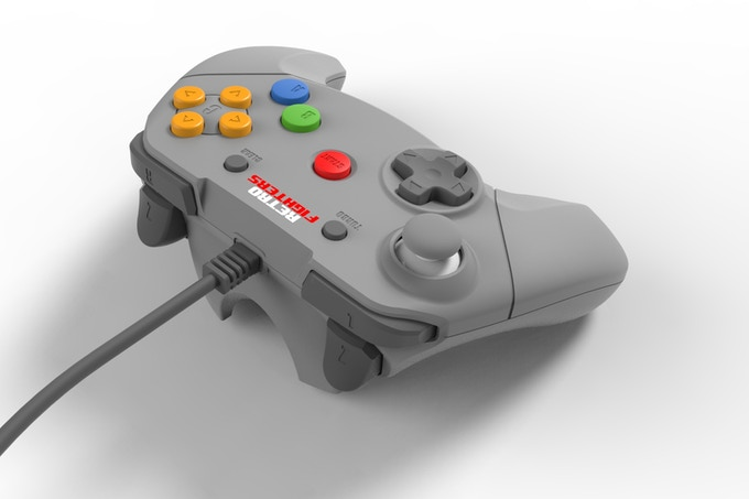 Top of the N64 Retro Fighters Controller