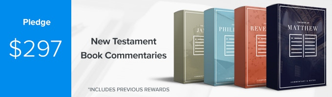 Get Bible book commentaries and notes of EVERY New Testament book of the Bible PLUS early access to your one-year Sermonary membership. (Includes Previous Rewards)