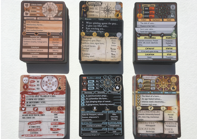 The Original Six GMA PoD Decks