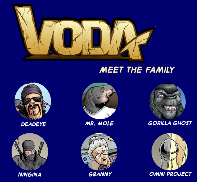 The New VODA, Issue 1 by Outpouring Comics — Kickstarter