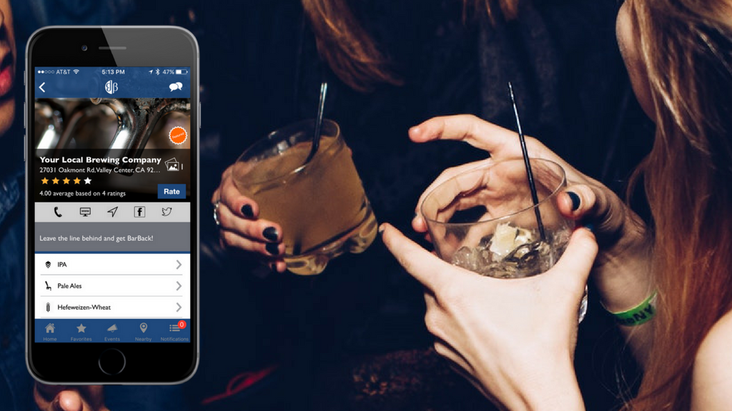 BarBack, order and pay for your drinks from your phone. project video thumbnail