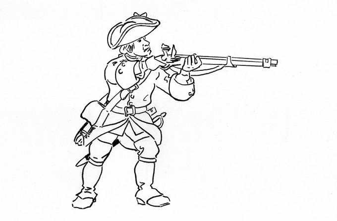 LA MARINE: 28mm French Soldiers for the French & Indian