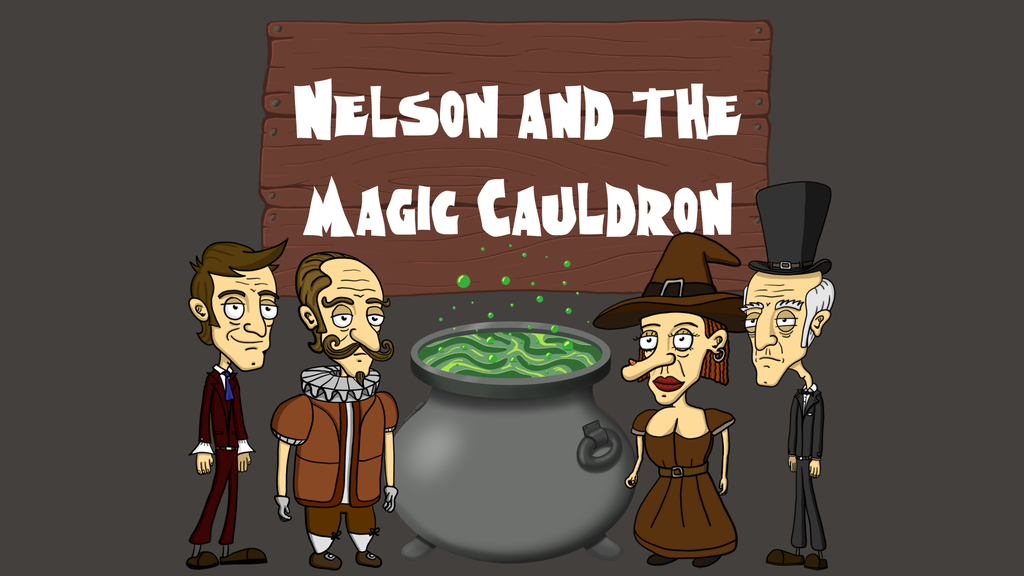 Nelson and the Magic Cauldron - music for the adventure game miniatura de video del proyecto