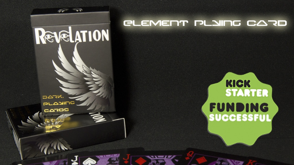 Element Playing Card - Printed by USPCC project video thumbnail